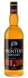 Printer's whisky STOCK 0,7L 40%